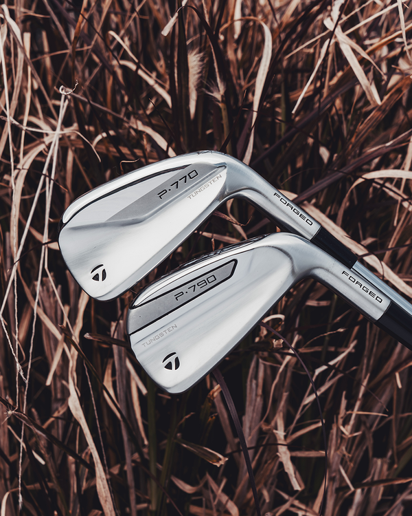 NEW: TaylorMade P•7MB, P•7MC and P•770 irons.