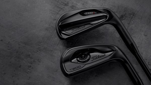 NEW: Titleist All Black T-Series Irons