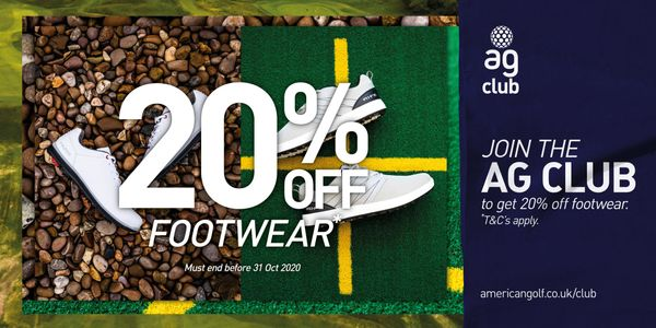 AG Club Offer! 20% OFF Selected Spikeless Footwear